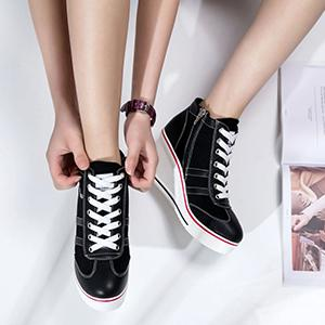 Black Wedge Shoes for women