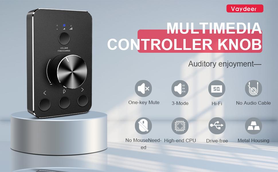 Multimedia Controller Knob