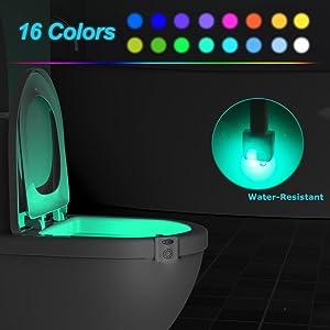 motion sensor toilet light motion activated toilet light