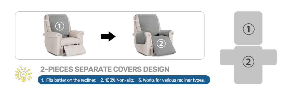 recliner chair covers for reclining chair