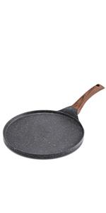 nonstick crepe pan pancake flat skillet