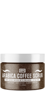 Arabica Coffee Scrub Infused with Collagen and Stem Cell