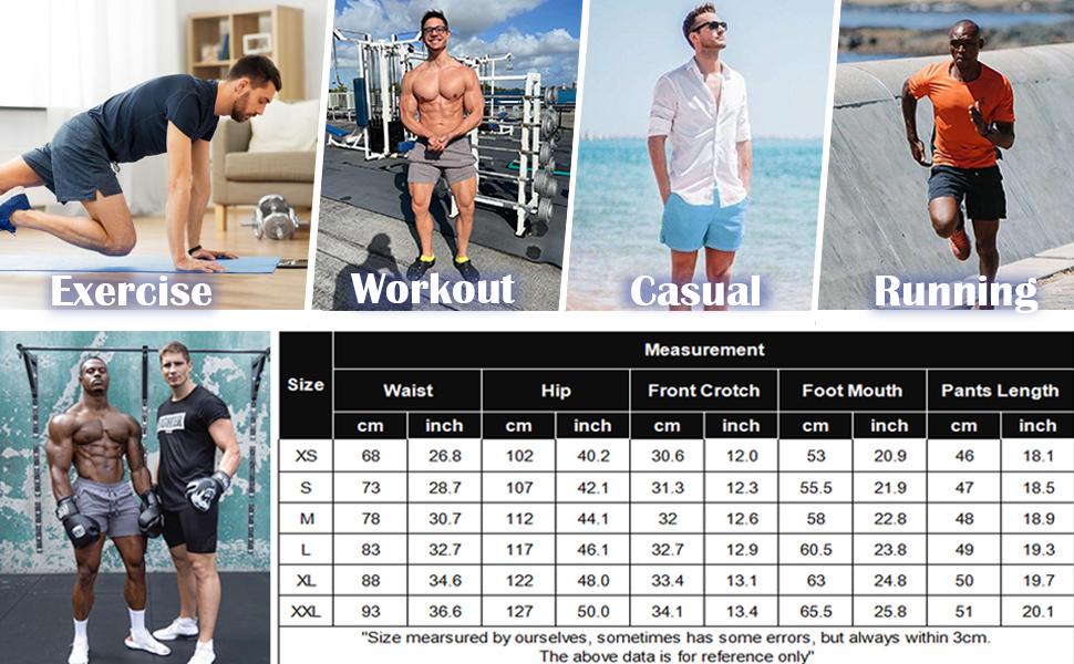 mens workout shorts gym bodybuilding shorts