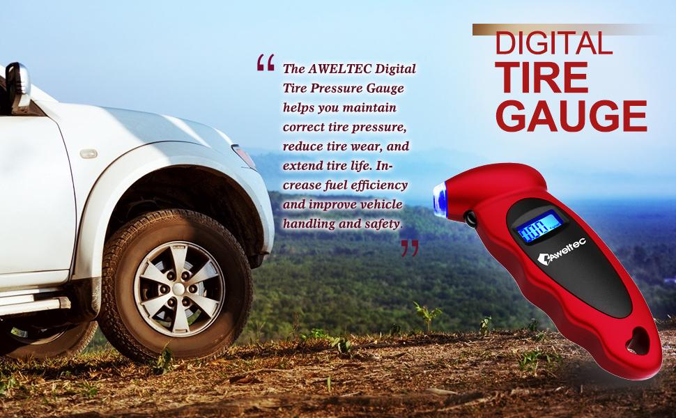 Tire Pressure gauge, help to check tire gauge