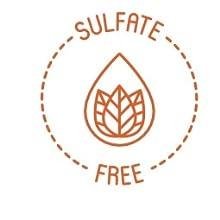 sulfate free icon