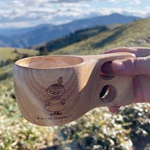 Retki レトキ ククサ Kuksa アウトドア 木製 マグカップ ムーミン スナフキン リトルミイ パパ Moomin 北欧 フィンランド キャンプ