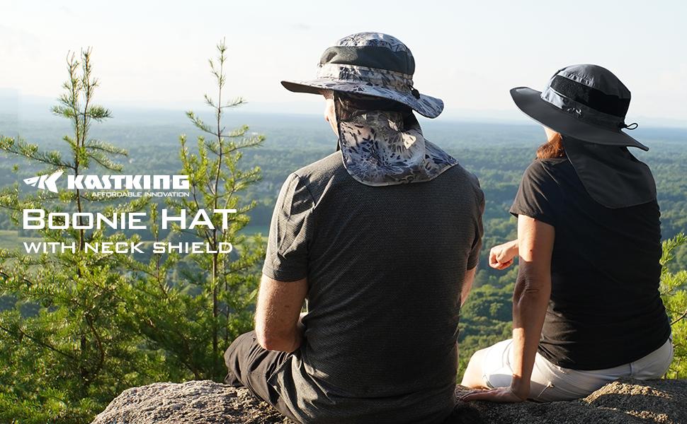 Boonie Hat with Neck Shield banner