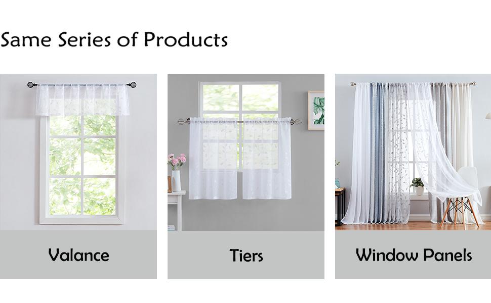 Botanical Window Draperies