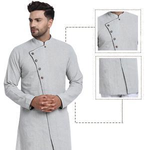 cross cut kurta pajama set