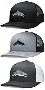 LARIX Z-Fish Trucker Hat