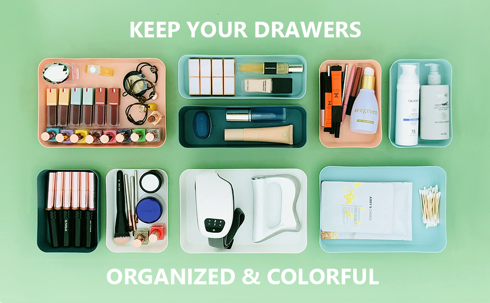 Keep your drawers organized and colorful