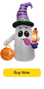 Cute Ghost with syringe