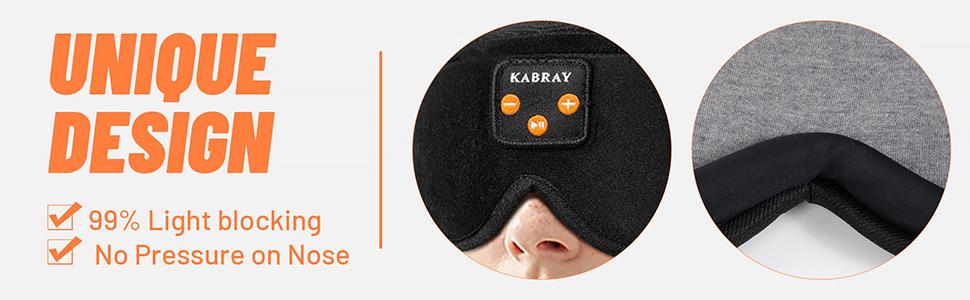 sleep mask with headphones