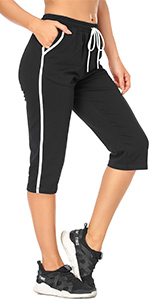 women workout pants with pockets