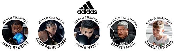 ADIDAS GLOVES BOXING KICKBOXING MMA 16OZ 14OZ 12OZ BLACK GOLD RED WHITE