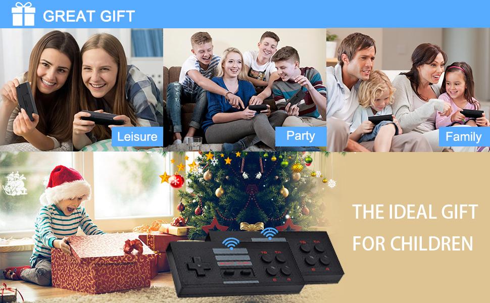 retro game console gift
