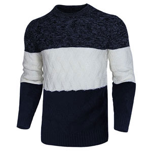 cogild sweaters for men color block striped pullover top