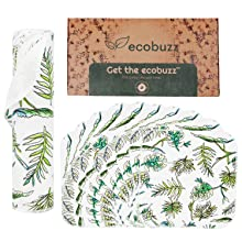Eco buzz unpaper towels with a sustainable box
