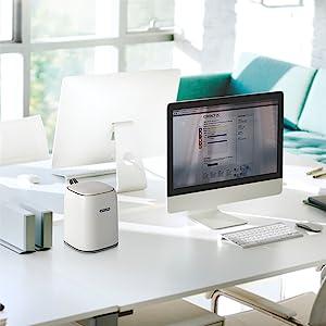 Computer Desk Mini Trash Can