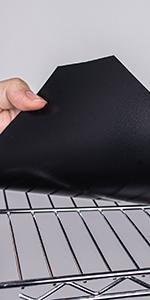 Black Wire Shelf Liner