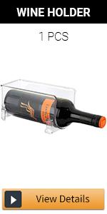 Stackable Wine Storage Rack - 1pcs