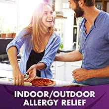 Get relief from mold, dandruff, dust, cats, dogs, pets and other indoor allergies.