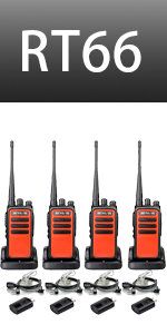 two way radios rechargeable