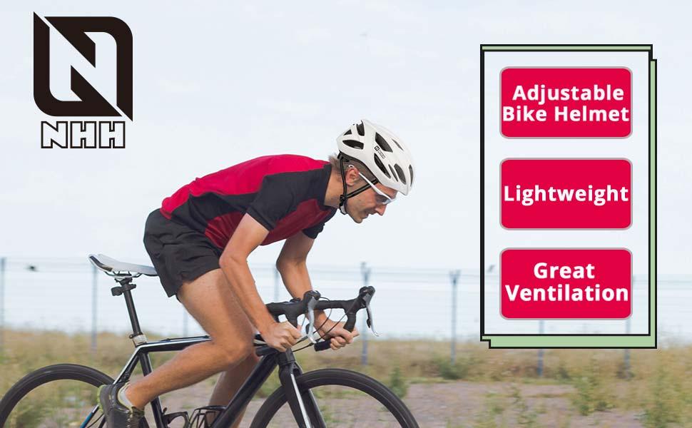 NHH adjustable bike helmet
