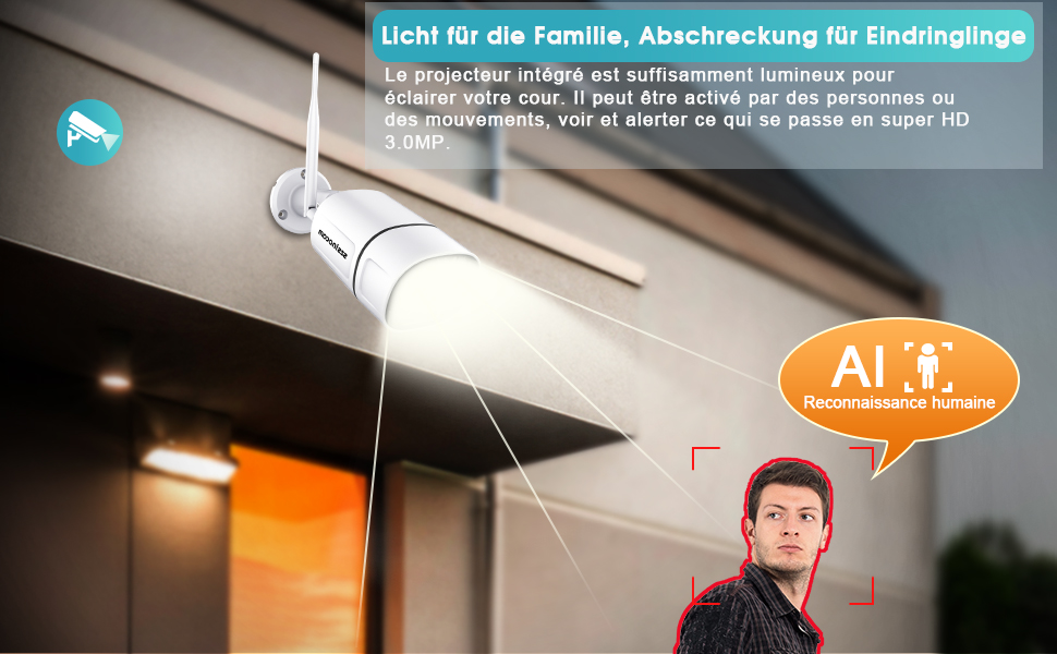 calera de surveillance a distance wifi