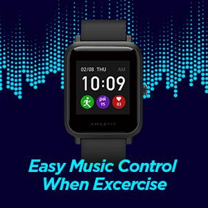 music control smart watch