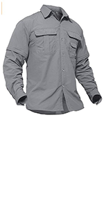 Breathable Solid  Shirts