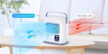 portable ac air conditioner w/ 12h timer for home