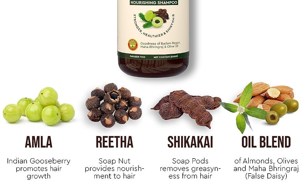 Amla Shampoo Ingredients