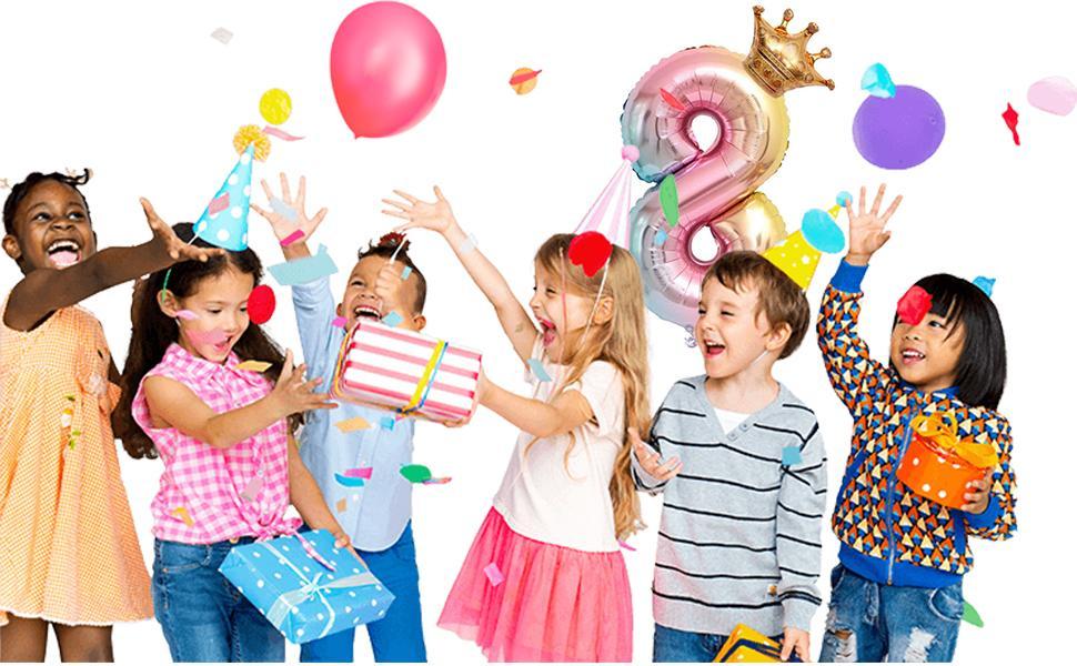 Junge Mädchen Geburtstag