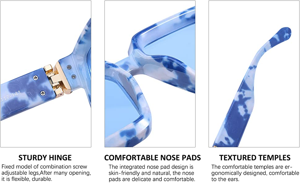 Product detail description,reasonable curvature of the temples makes wearing more comfortable.