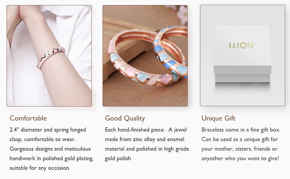 simplisttic style bracelets detail