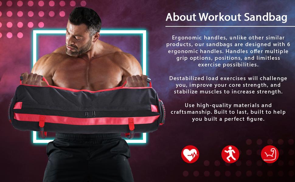 workout for sandbag