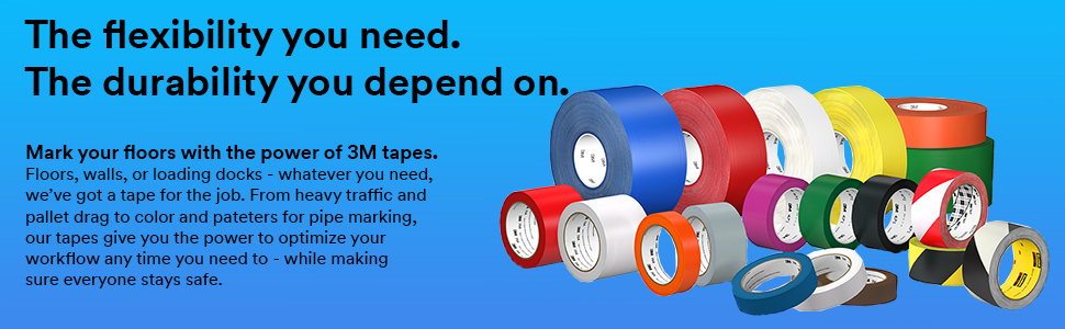 3M Vinyl Tapes - Flexible and dependable