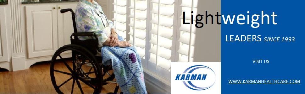 ergonomic, karman, karman healthcare, wheelchair, wheelchairs, light wheelchair