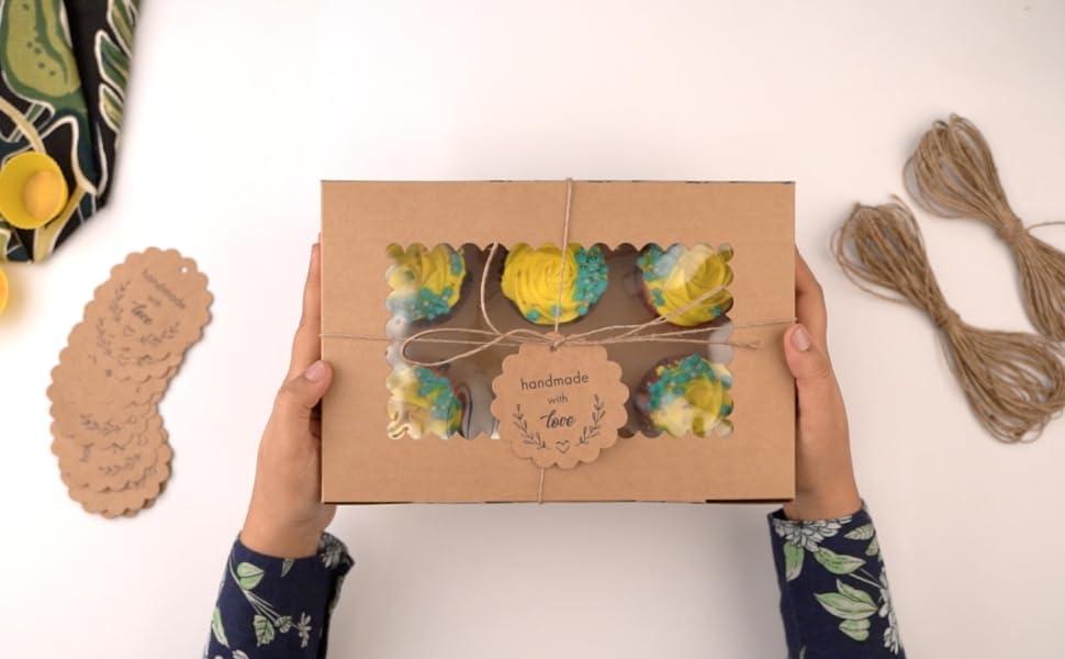 cupcake carrier boxes premium