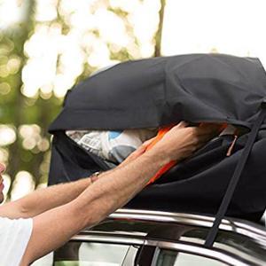Car Roof Bag Cargo Carrier, 20 Cubic Feet Waterproof Rooftop Cargo Carrier Bag