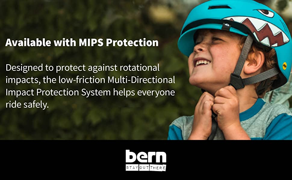 Available with MIPS protection. Designed to protect against rotational impacts.