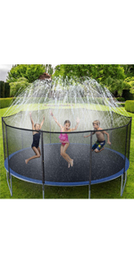 Trampoline Sprinklers