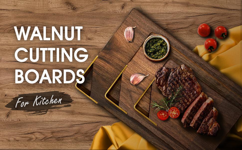walnut cutting boards for kitchen