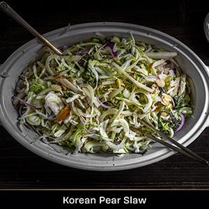Photo of Korean Pear Slaw