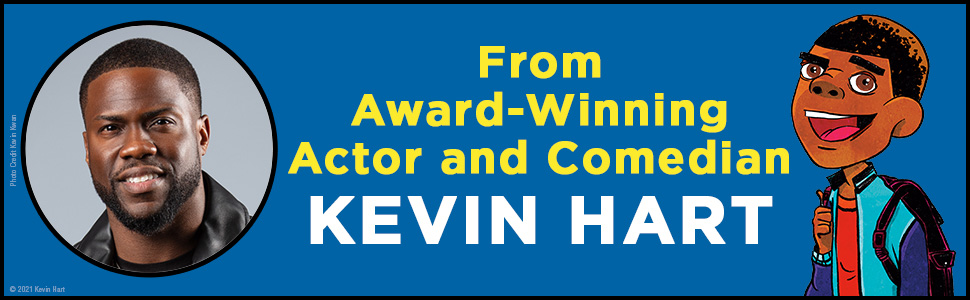 From Award-Winning Actor and Comedian Kevin Hart. Photo of the actor Kevin Hart and illustration