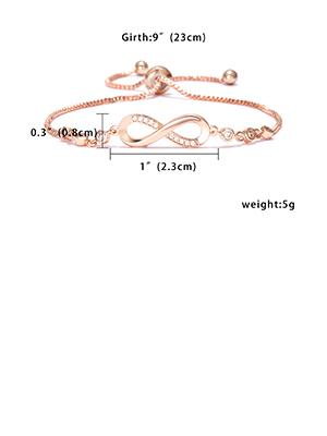 Infinity Couple Bracelet size