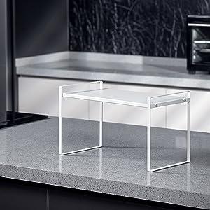 Beeloving 2Pack Cabinet Shelf white