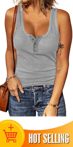 Solid Color Casual Tops for Women
