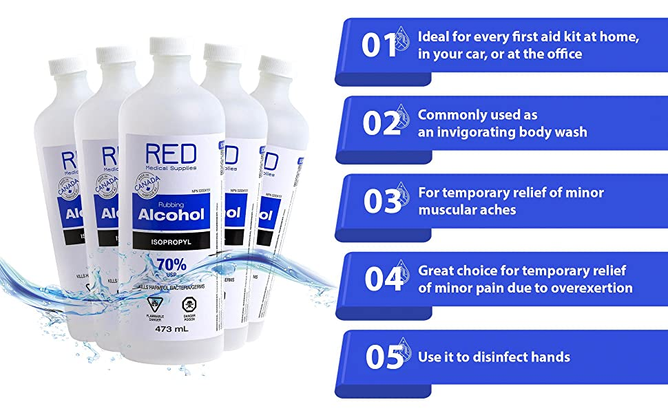 chloride free mains isopropylique water aloe soap hospital masks antiseptique gone big food swabs